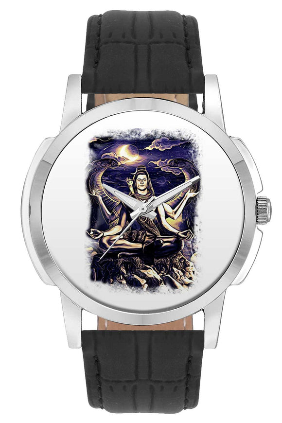 Wrist Watches India | Shiva Psychedelic Illustration Wrist Watch Online India.