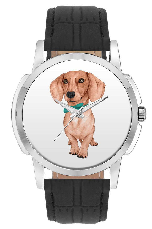 Wrist Watches India | Cute Dog Illustration  Wrist Watch Online India.