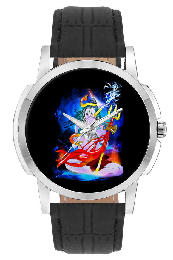Wrist Watches India | Shiva Graphic Illustration Wrist Watch Online India.