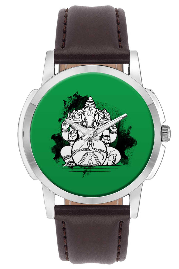 Wrist Watches India | Ganesha Illustration Wrist Watch Online India.