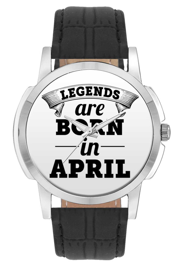 Wrist Watches India | Legends are Born In April Wrist Watch Online India.