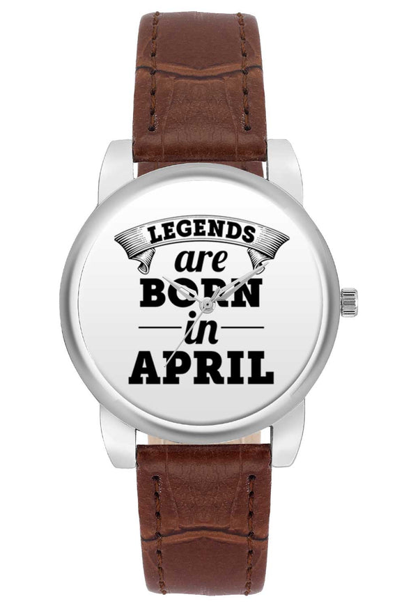 Women Wrist Watch India | Legends are Born In April Women Wrist Watch Women Wrist Watch Online India