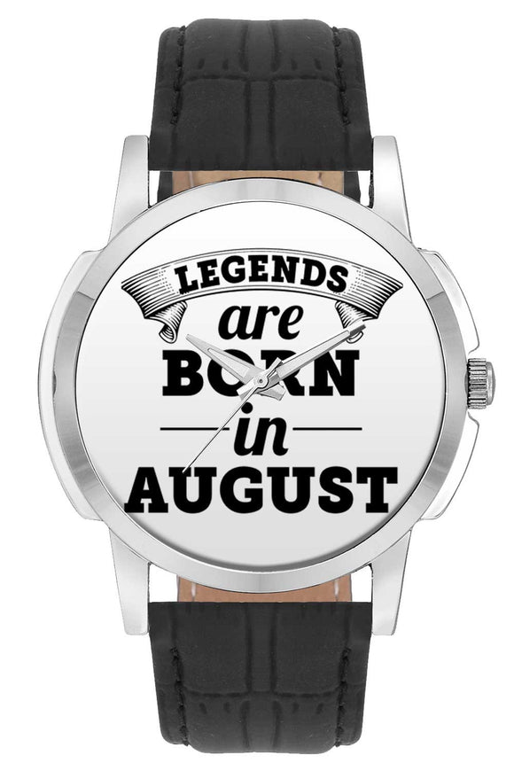 Wrist Watches India | Legends are Born In August Wrist Watch Online India.