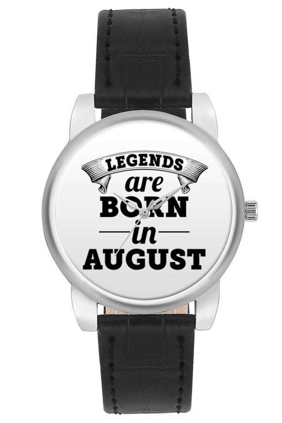 Women Wrist Watch India | Legends are Born In August Women Wrist Watch Women Wrist Watch Online India