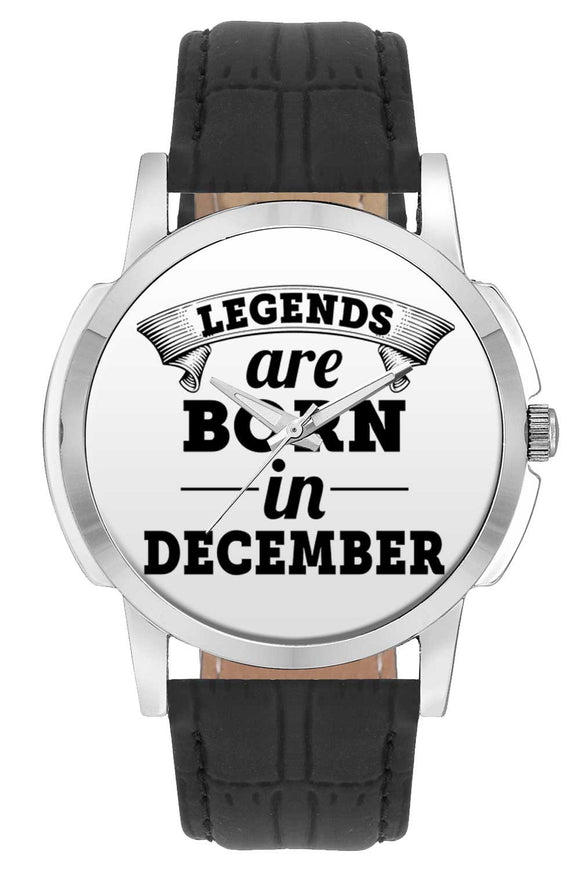 Wrist Watches India | Legends are Born In December Wrist Watch Online India.