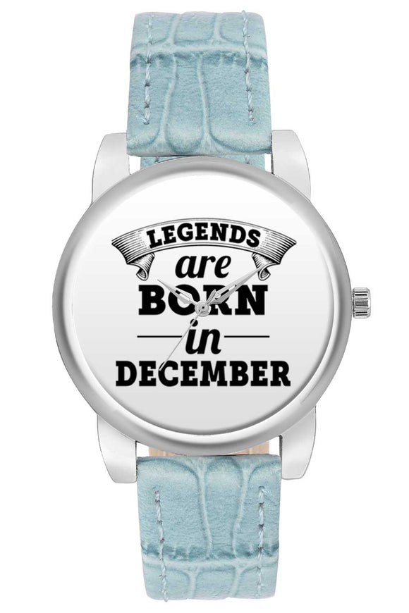 Women Wrist Watch India | Legends are Born In December Women Wrist Watch Women Wrist Watch Online India