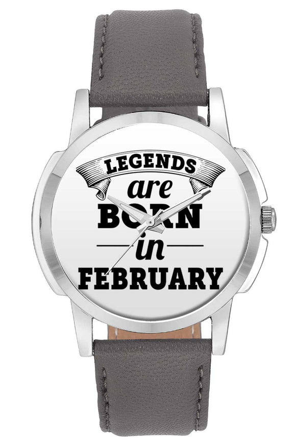 Wrist Watches India | Legends are Born In February Wrist Watch Online India.
