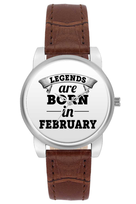 Women Wrist Watch India | Legends are Born In February Women Wrist Watch Women Wrist Watch Online India