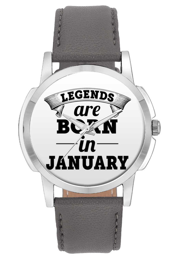 Wrist Watches India | Legends are Born In January Wrist Watch Online India.