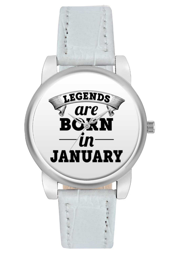 Women Wrist Watch India | Legends are Born In January Women Wrist Watch Women Wrist Watch Online India