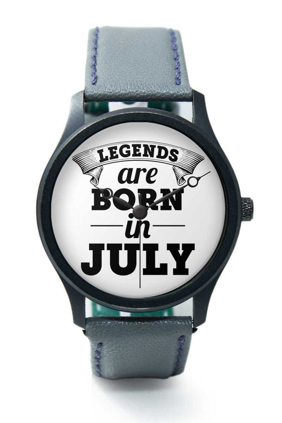 Wrist Watches India | Legends are Born In July Premium Men Watch Online India.