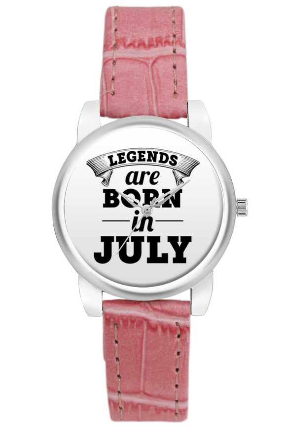 Women Wrist Watch India | Legends are Born In July Women Wrist Watch Women Wrist Watch Online India