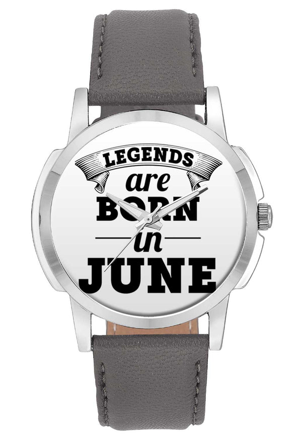 Wrist Watches India | Legends are Born In June Wrist Watch Online India.