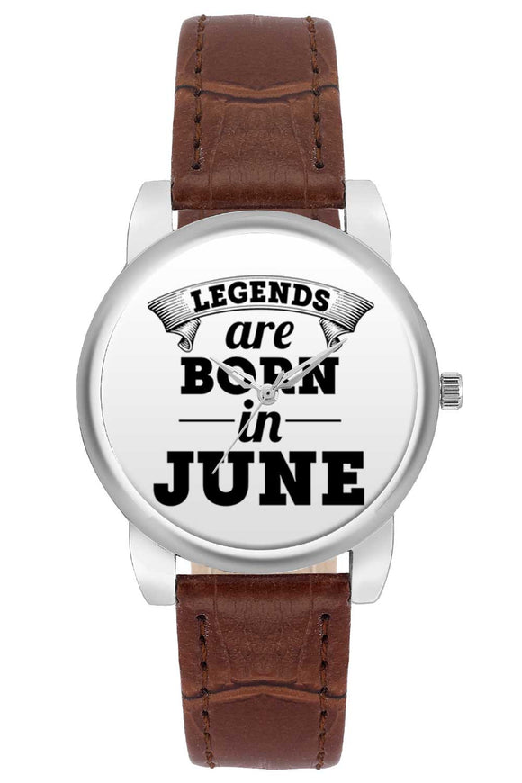 Women Wrist Watch India | Legends are Born In June Women Wrist Watch Women Wrist Watch Online India