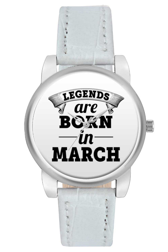 Women Wrist Watch India | Legends are Born In March Women Wrist Watch Women Wrist Watch Online India