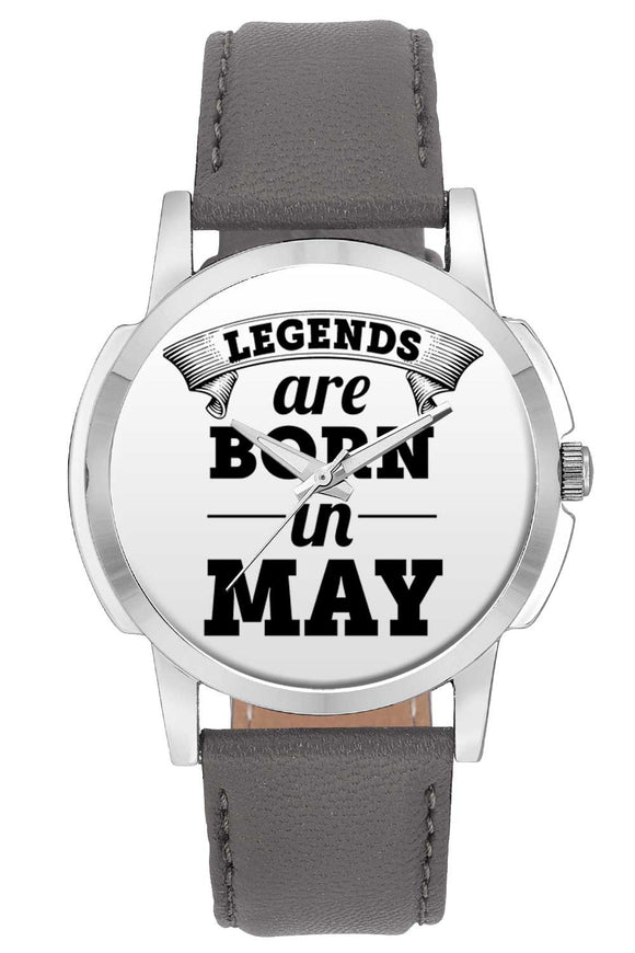 Wrist Watches India | Legends are Born In May Wrist Watch Online India.