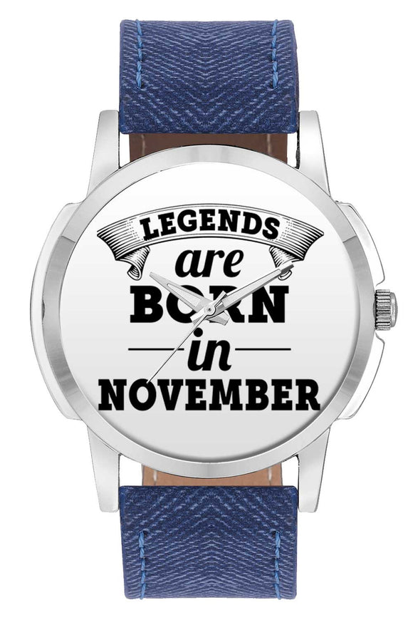 Wrist Watches India | Legends are Born In November Wrist Watch Online India.