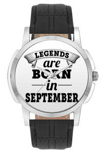 Wrist Watches India | Legends are Born In September Wrist Watch Online India.