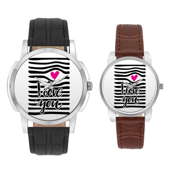 Wrist Watch India |  I Love You  Couple Watch  Online India