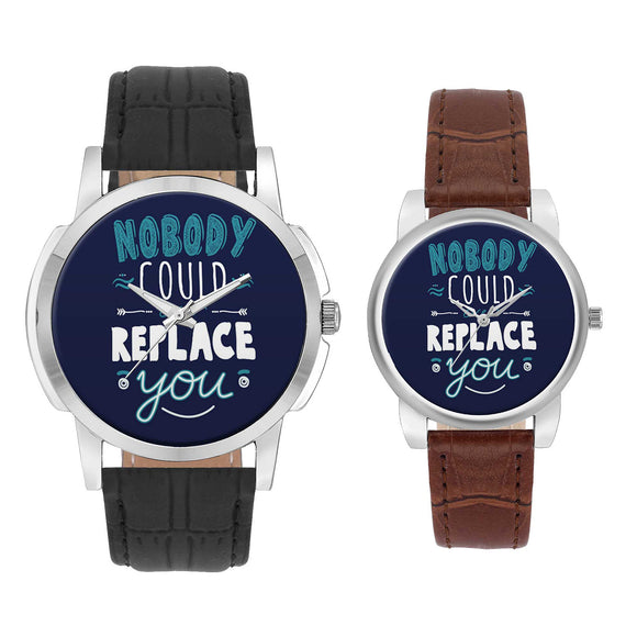 Wrist Watch India |  Nobody Could Ever Replace You   Couple Watch  Online India