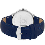 Blue Dial Day and Date Boys and Men Wrist Watch
