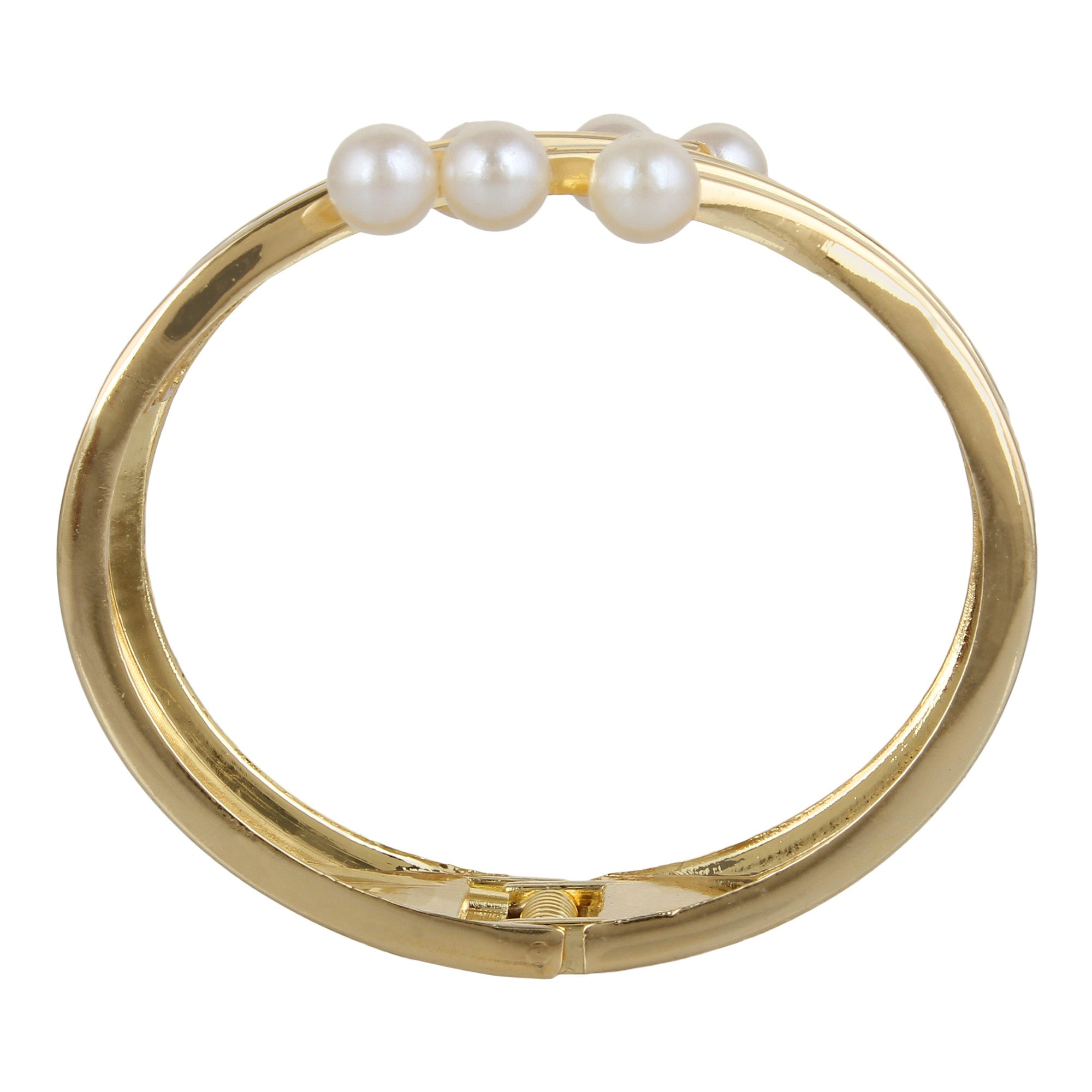 nov and copy bracelet toned products cocli crystals natural gold girl bangle plated girls with little pearl bangles swarovski pearls shoot of for