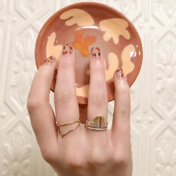 The Claire Ring featured by CKTC Ceramics