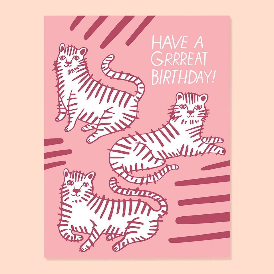 Grrreat Birthday Card | The Good Twin