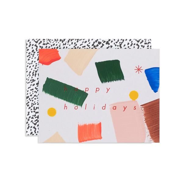 Holiday Confetti card | Moglea