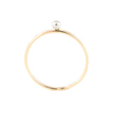 mixed metal gold filled vermeil simple stacking everyday dot ring