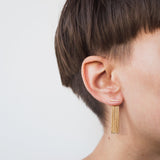Bar Fringe Ear Jackets
