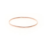 rose gold filled sterling silver simple wedding band ring