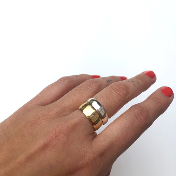 Chunky Stacking Rings