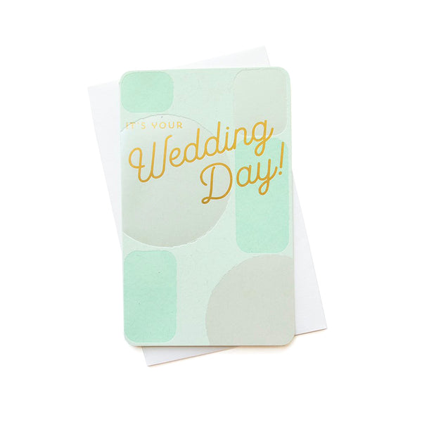 Wedding Day Card | Anemone Letterpress
