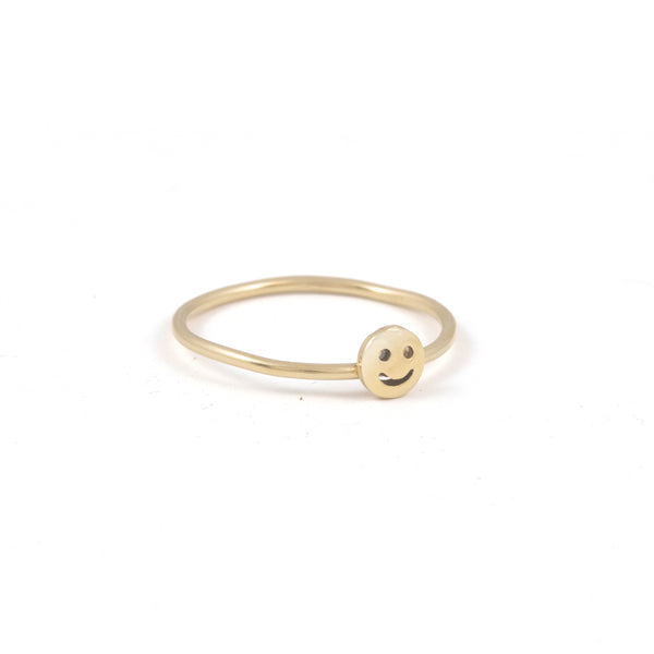 Smiley Stacking Ring