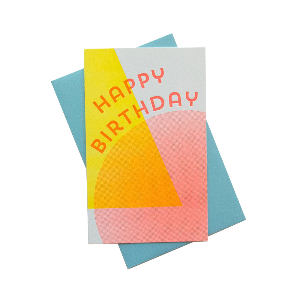 Solar Birthday Card | Anemone Letterpress