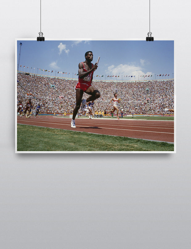 Carl Lewis Relay - LA 84