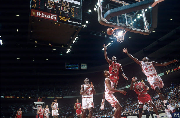 Chicago Bulls vs. Miami Heat - NBA Finals 92