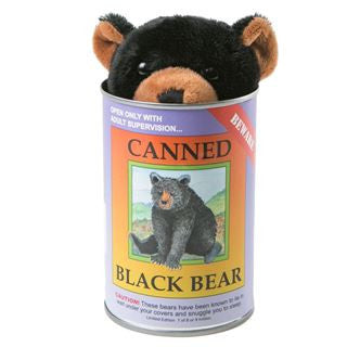 Canned Critters, Black Bear