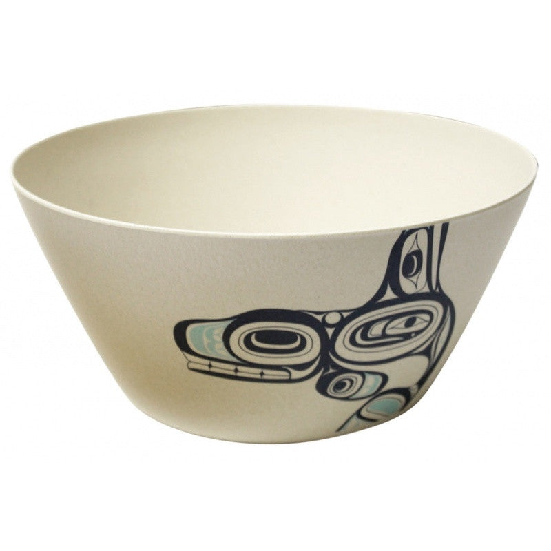 "Whale 10"" Bamboo Bowl"
