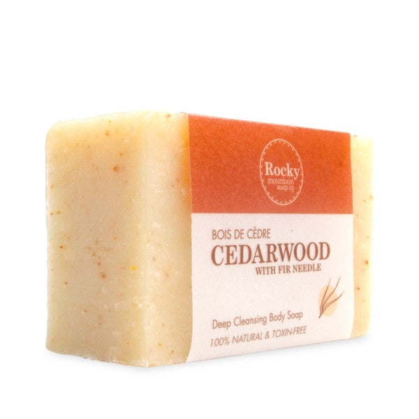 Rocky Mnt- Cedarwood Soap