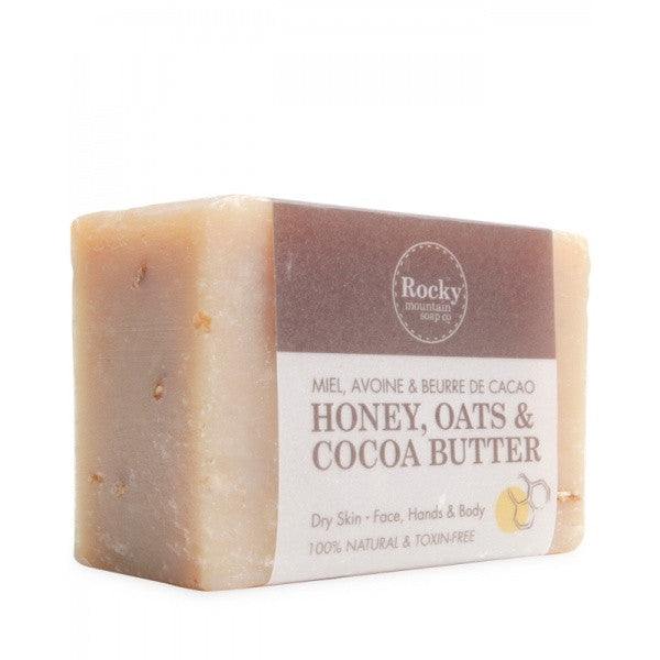 Honey, Oats & Cocoa Soap