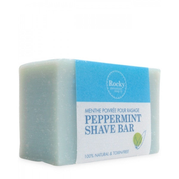 Rocky Mtn- Peppermint Shave Bar