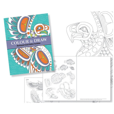 Colouring Book, Northwest Coast Native Formline