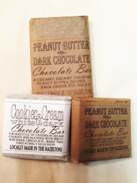 Donna's- Artisan Crafted Cookies & Cream Chocolate Bar