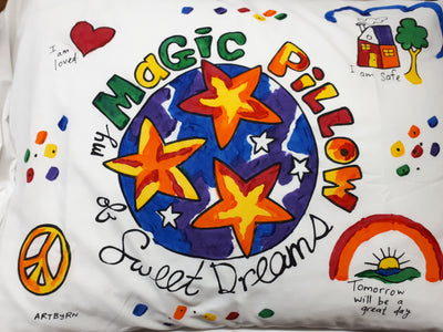 Pillowcase Painting Kit, Magic Pillow-Artburn