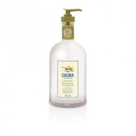 Cucina- Sea Salt and Amalfi Lemon Hand Soap