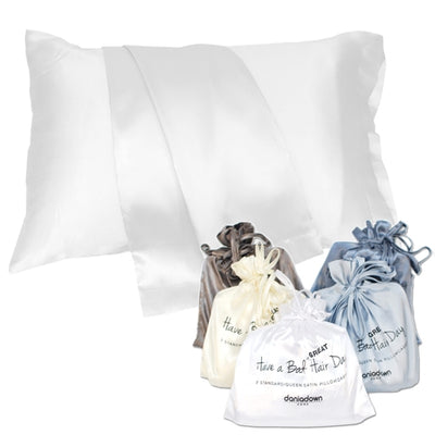 Daniadown- Silk Pillow Cases