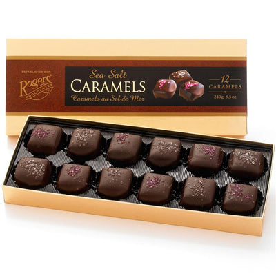 Rogers' Chocolates- Sea Salt Caramels