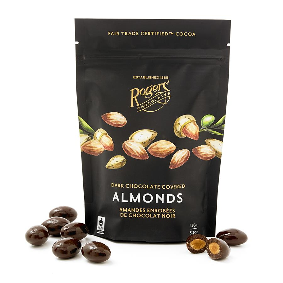 Rogers Chocolates- Milk & Dark Chocolate Gourmet Nut Mix